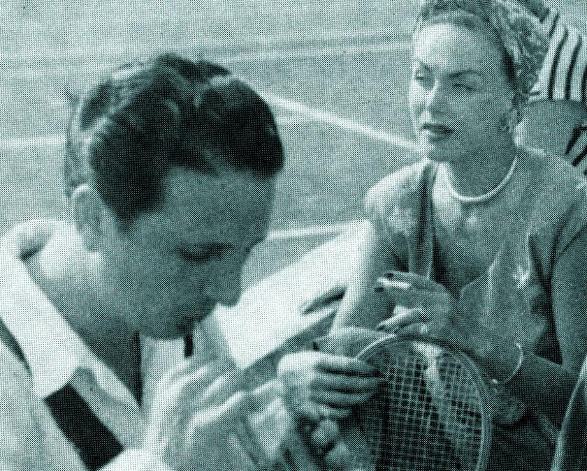 Hjordis Tersmeden with Igor Cassini