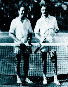 Igor and Oleg Cassini, Palm Beach, March 1947