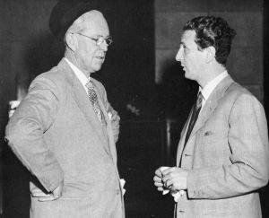 Joe Kennedy with Igor Cassini