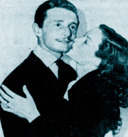 Oleg Cassini with Gene Tierney