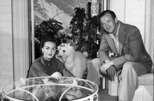 HJordis and David Niven, Pacific Palisades 1950-51