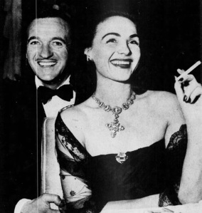 David and Hjördis Niven, Hollywood, March 1948