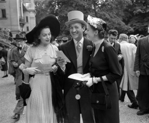 Hjördis and David Niven in 1951