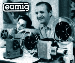 David And Hjordis Niven advertising home cine equipment, 1960