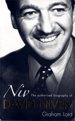 David Niven - Niv, biography by Graham Lord - book cover