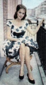 Hjordis Niven, London 1960