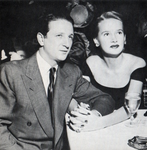 Igor Cassini with his second wife, Darrah Waters