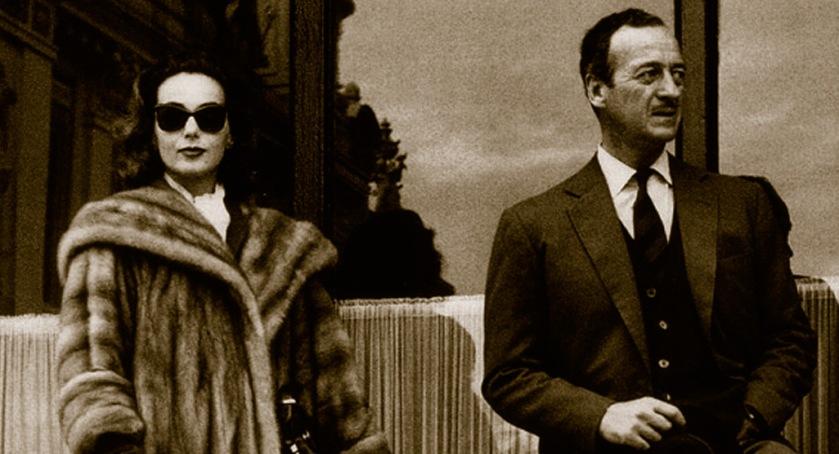 Hjordis and David Niven, Monte Carlo, February 1959