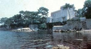 David Niven's house at Cap Ferrat in 1983