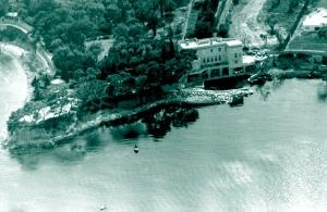 Aerial view of La Scoglietto, 1964
