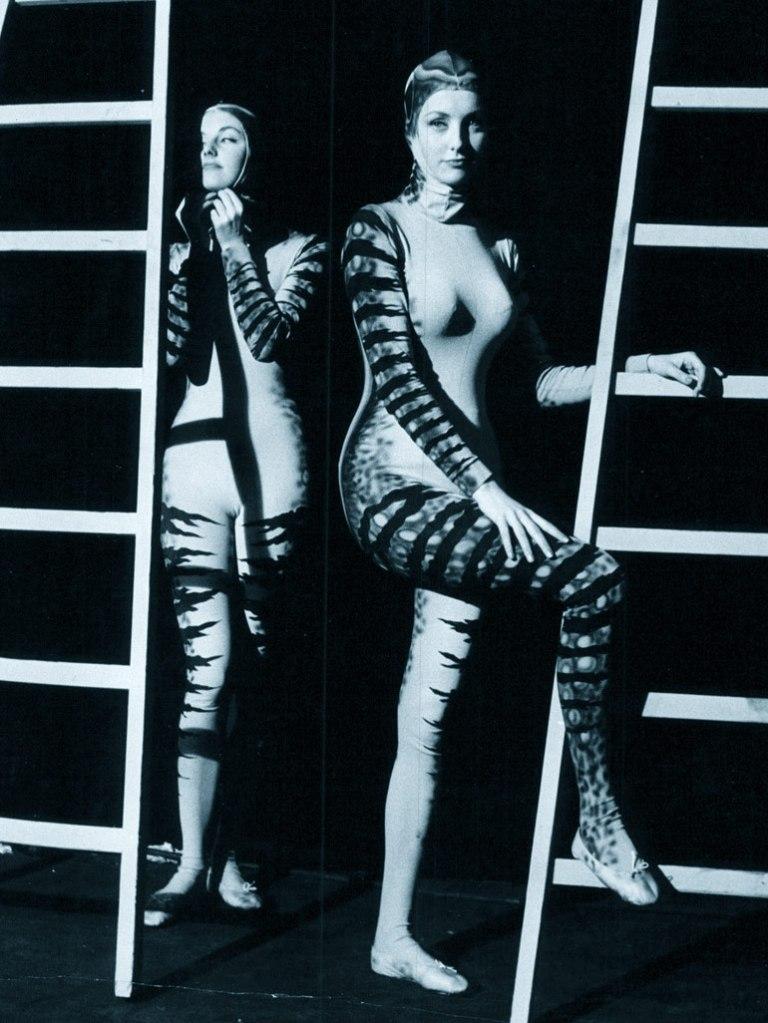 Pia and Mia Genberg, 1961