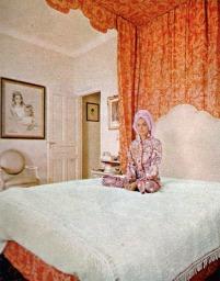 Hjordis Niven at Lo Scoglietto, 1967