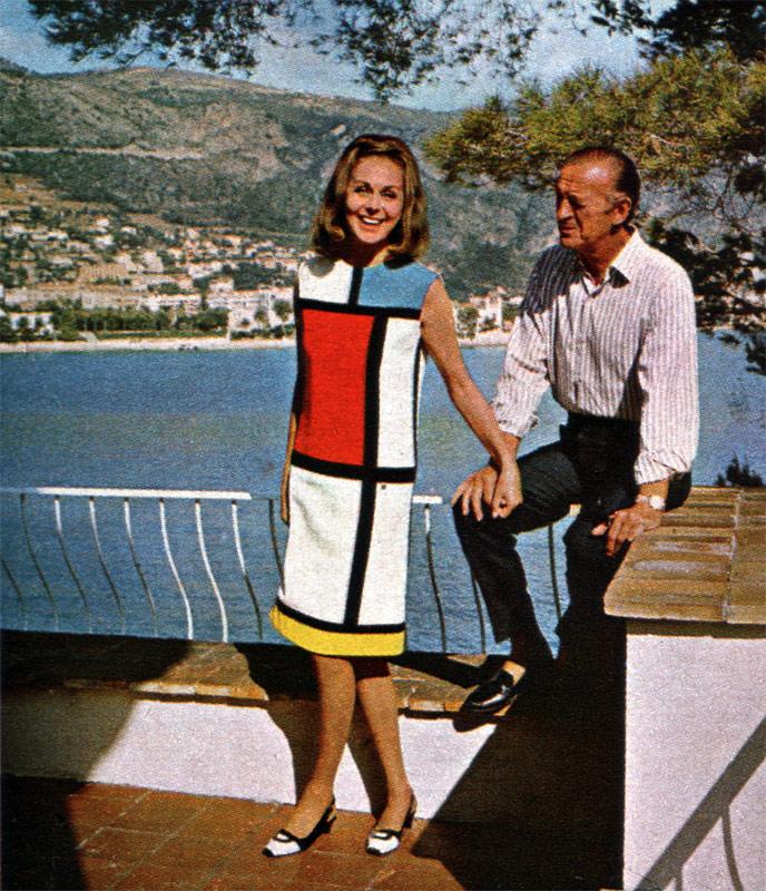 David and Hjordis Niven at Lo Scoglietto, 1967