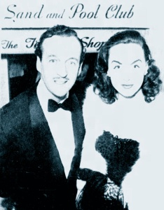David and Hjordis Niven at the Photoplay magazine awards, April 1949.