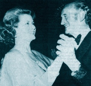 Princess Grace with David Niven
