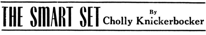 Igor Cassini's byline, 1947
