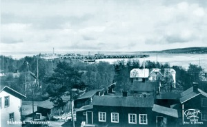 View of Vivstavarv and Timrå, 1935-45