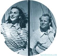 Hjordis and Carl Gustaf Tersmeden, 1946