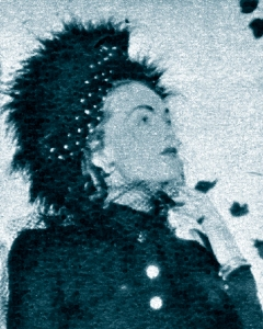 Hjordis Tersmeden and her hat. New York, 1947