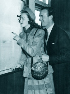 January 1948 - David and Hjordis Niven arrive in New York