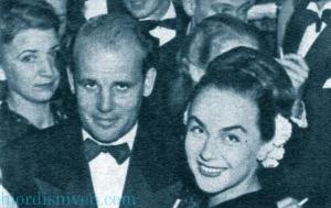 Carl Gustaf Tersmeden and Hjordis Genberg, c1945