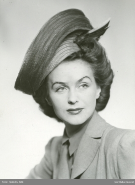 Hjördis Genberg, 1943.