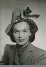Hjördis Genberg, 1944.