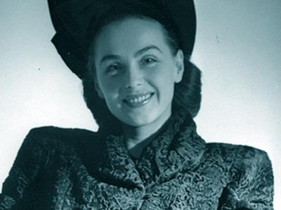 Hjördis Genberg, 1945