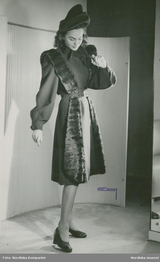 Hjördis Genberg, 1945.