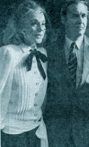 Hjordis Niven and David Niven Jr, 1983