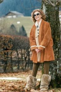 1994, Hjordis Niven in Switzerland
