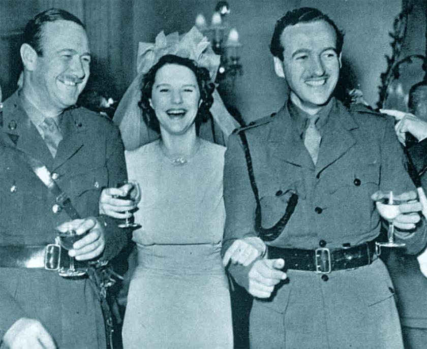 1940. Max Niven's wedding