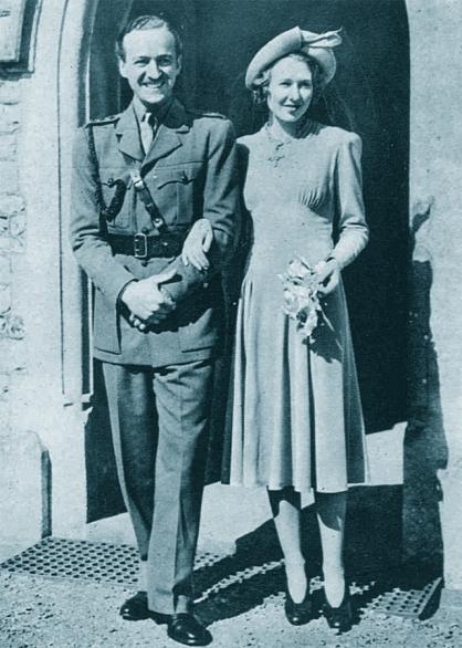 1940, David and Primmie Niven