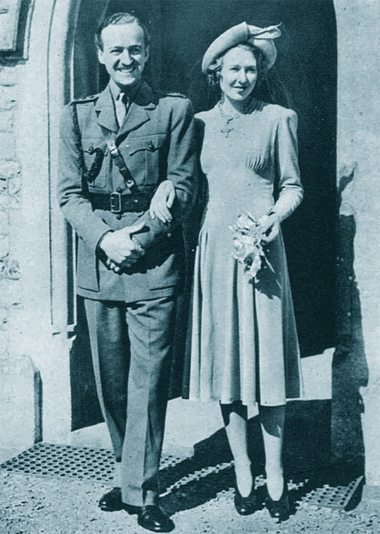 1940, David and Primmie Niven