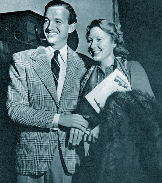 David and Primmie Niven, 1941