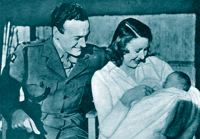 David and Primmie Niven, 1943