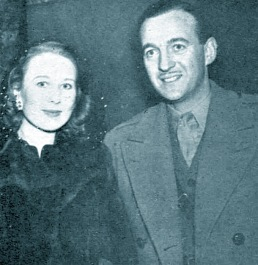 Primmie and David Niven, 1944