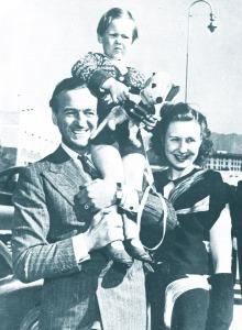 David and Primmie Niven, 1946