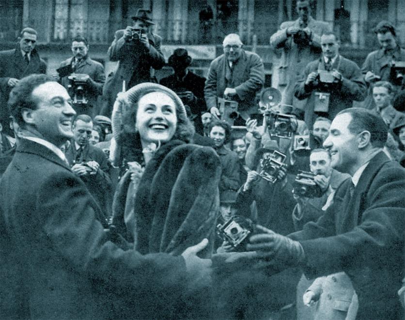 1948 David Niven wedding