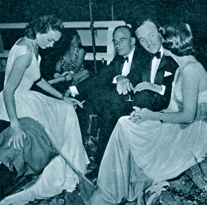 Hjordis Niven, Bembridge, 1950