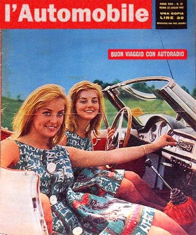 Pia and Mia Genberg, magazine cover