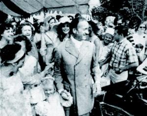 1968, Jamie Niven's wedding