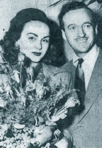 David and Hjordis Niven, January 1948