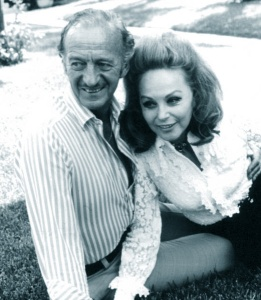 David and Hjördis Niven, c.1977