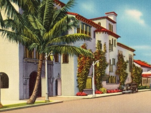 The Everglades Club, Palm Beach, 1930s