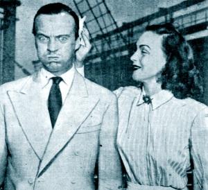 David & Hjordis Niven, 1948