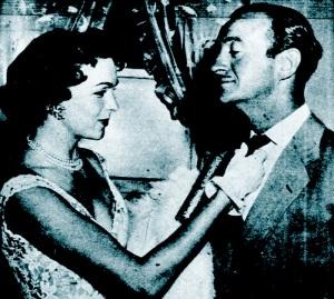 David and Hjordis Niven, October 1952