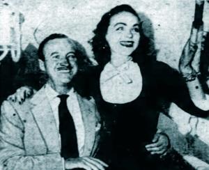 David and Hjordis Niven, 1953