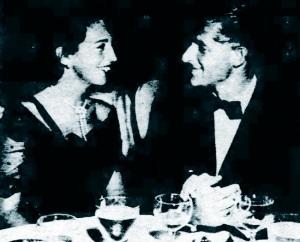 Barbara Hoge with Ivan Peter Obolensky, 1949