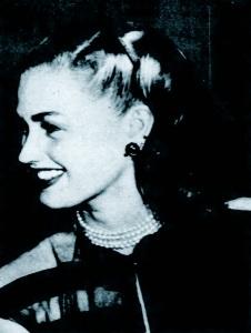 Inga Lindgren in 1947